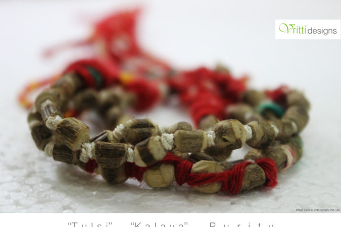 Hand Made &  Eco Friendly Rakhi's by Vritti Designs