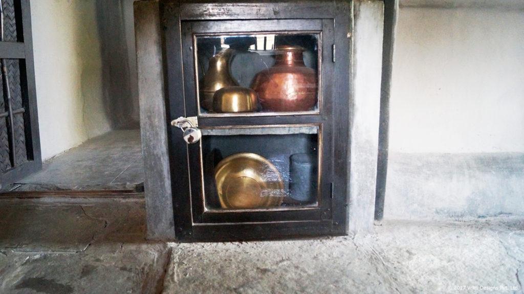 Utensils used by Gandhi Ji