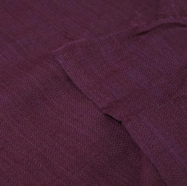 Natural dyed Marino Wool fabric