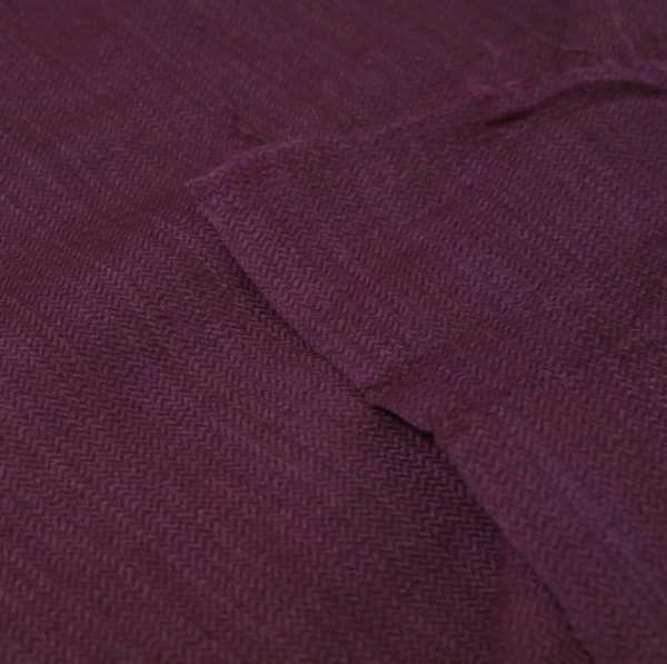 Natural dyed Marino Wool fabric