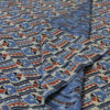 Ajrakh Print fabric made in India