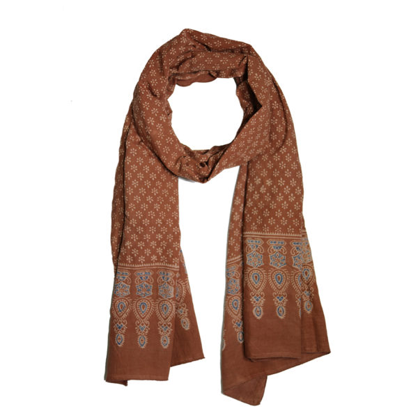 Indian Block Print Scarf
