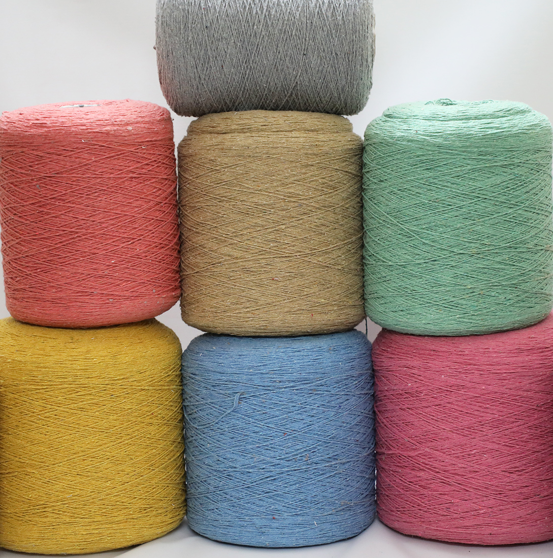 Recycled Yarn made from Post Consumer Textile Waste • Vritti Designs